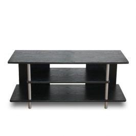 TV stolek, černá / stříbrná, Quido 0000006058 Tempo Kondela