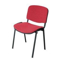 Kancelářská židle, červená, ISO NEW 0000064042 Tempo Kondela