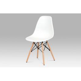Jedálenská stolička CT-758 Autronic Biela