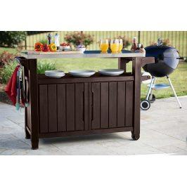 UNITY XL 207L stôl hnedý Keter
