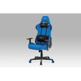 Kancelárská stolička KA-F05 BLUE modrá Autronic
