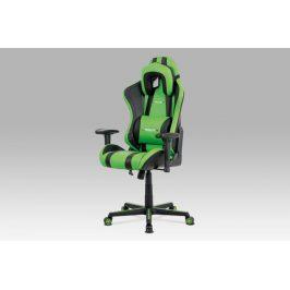 Kancelárská stolička KA-V609 GRN zelená / čierná Autronic