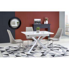 Jedálenský stôl HARPER rozkladací 120/160 biela Halmar