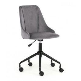 Detská stolička BREAK tmavosivá Halmar