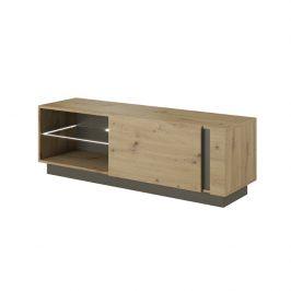 RTV stolek 138, dub artisan / šedý grafit, CITY 0000239446 Tempo Kondela