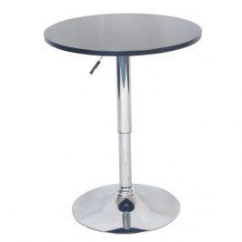 Barový stůl s nastavitelnou výškou, černá, BRANY NEW 0000233883 Tempo Kondela