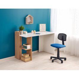 Písací stôl FINO Halmar Dub zlatý