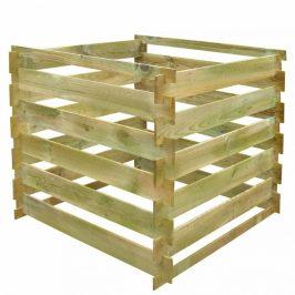 Latkový kompostér 0,54 m3 drevo Dekorhome
