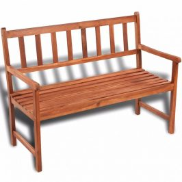 Záhradná lavička 120 cm z akáciového dreva