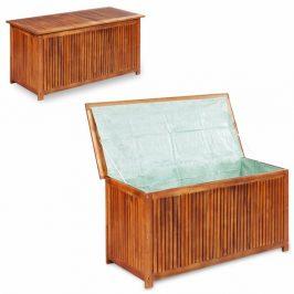 Záhradný úložný box akáciové drevo