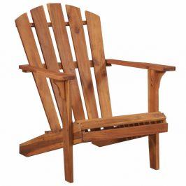 Záhradná stolička ADIRONDACK hnedá