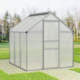 Skleník hliníkový 190 x 190 x 195 cm Dekorhome