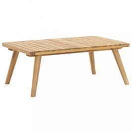 Záhradný stolík 90x55 cm akácie Dekorhome