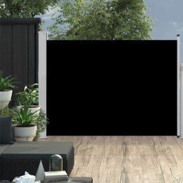 Zaťahovací bočný markíza / zástena na terasu 100x500 cm čierna Dekorhome