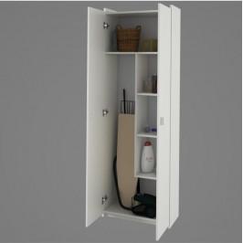 Kombinovaná skříň, DTD laminovaná, bílá, NATALI TYP 6 0000189253 Tempo Kondela