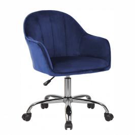 Kancelárske kreslo EROL Tempo Kondela Modrá