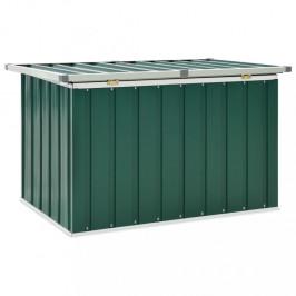 Záhradný úložný box pozinkovaná oceľ Dekorhome Zelená