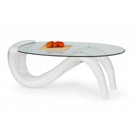 Konferenčný stôl CORTINA biela Halmar