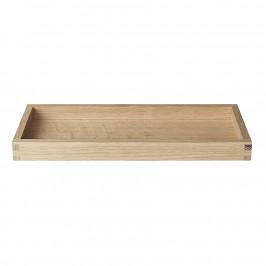 Blomus Dřevěný tác BORDA 30x12 cm