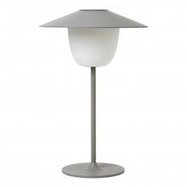 Blomus Mobilná LED lampa ANI LAMP svetlosivá
