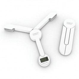 Joseph Joseph Skladacia digitálna kuchynská váha biela TriScale™