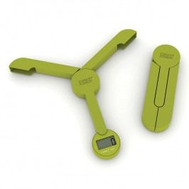 Joseph Joseph Skladacia digitálna kuchynská váha zelená TriScale™