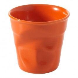 REVOL Téglik na espresso 8 cl pomarančová Froissés