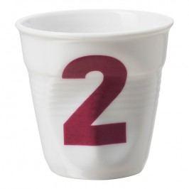 REVOL Téglik na espresso 8 cl biely