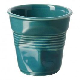 REVOL Téglik na espresso 8 cl modrozelený Froissés