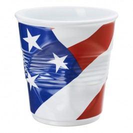 REVOL Téglik na kuchynské náčinie 1 l s vlajkou U.S.A. Froissés