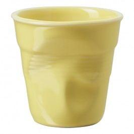 REVOL Téglik na espresso 8 cl citrusová Froissés