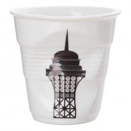 REVOL Téglik na cappuccino 18 cl Tour Eiffel Froissés