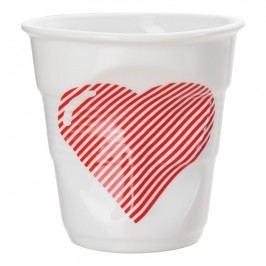 REVOL Téglik na cappuccino 18 cl Coeur Froissés