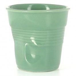 REVOL Téglik na cappuccino 18 cl šalviovozelený Froissés