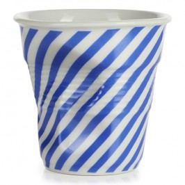 REVOL Téglik na cappuccino 18 cl modrá Berlingot Froissés