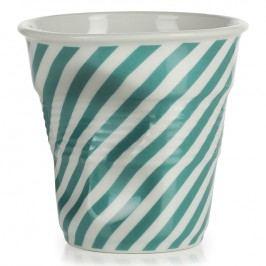 REVOL Téglik na cappuccino 18 cl zelená Berlingot Froissés