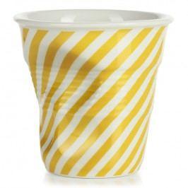 REVOL Téglik na cappuccino 18 cl žltá Berlingot Froissés