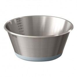 de Buyer Kuchynská miska z nehrdzavejúcej ocele Ø 28 cm so silikónovým dnom