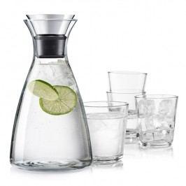 Eva Solo Súprava Karafa s drip-free okrajom + 4 poháre