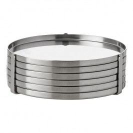 Stelton Podložky pod poháre súprava 6-dielna cylinda-line