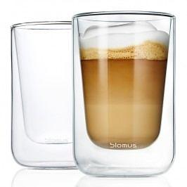 Blomus Súprava termopohárov na cappuccino 250 ml NERO