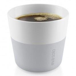 Eva Solo Termohrnčeky na kávu Lungo 230 ml 2 kusy svetlosivé