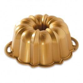 NordicWare Veľká forma na bábovku Anniversary Bundt® zlatá, Nordic Ware