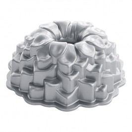 NordicWare Forma na bábovku chryzantéma Blossom Bundt® strieborná, Nordic Ware