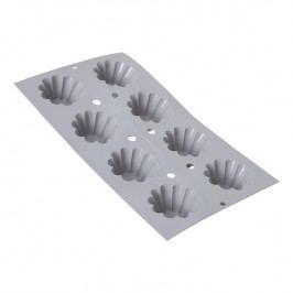 de Buyer Profi silikónová forma na 8 malých briošiek Ø 6 cm Elastomoule®