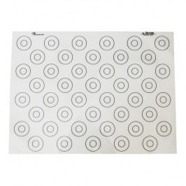 de Buyer Silikónová podložka na makrónky so značkami 40 x 30 cm