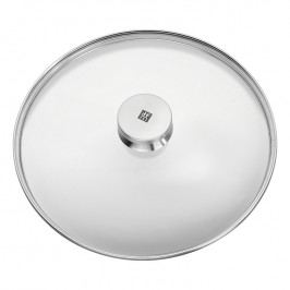 ZWILLING Sklenená pokrievka s úchytom z nehrdzavejúcej ocele Ø 28 cm TWIN® Specials
