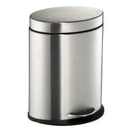 Wesco Odpadkový kôš do kúpeľne oválny 6 l matná nehrdzavejúca oceľ
