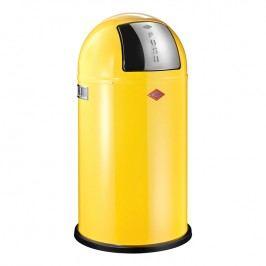 Wesco Odpadkový kôš Pushboy 50 l citrónový