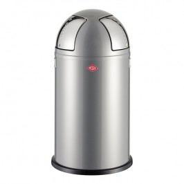 Wesco Odpadkový kôš Push two 50 l (2x 25 l) strieborný